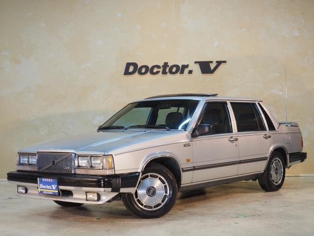 1985(S60)年 ボルボ 760セダン D車 左H 【GL】当店初入庫の760セダン! 電動サンルーフ装備☆