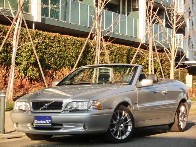 2003(H15)年 ボルボ C70カブリオレ D車 右H ベースモデル【全自動オープンカー】 03年後期モデル