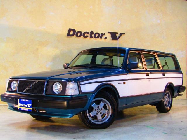 1989(H01)年 ボルボ 240ワゴン D車 右H 【GL】VOLTSカスタムVer. VOLTS丸目2灯ライト