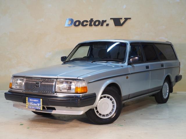 1990(H02)年 ボルボ 240ワゴン D車 右H GL【ワンオーナー】 記録簿 取説