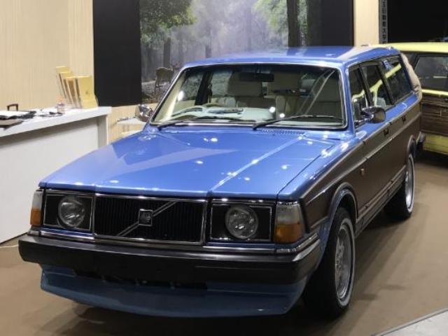 1989(H01)年 ボルボ 240ワゴン D車 右H GL VOLTSオリジナルカスタム 東京オートサロン出展