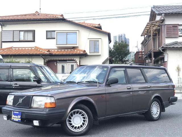 1991(H03)年 ボルボ 240ワゴン D車 右H GLリミテッド 当店買取車 記録簿・取説