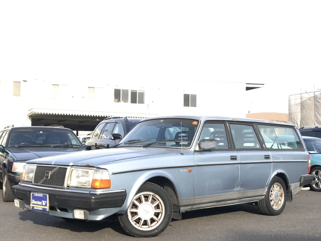 1989(H01)年 ボルボ 240ワゴン D車 右H GL【スモールウィンド】 Tベル済 記録簿付