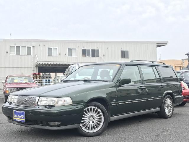 1996(H08)年 ボルボ 960 D車 右H 3.0 24V 記録簿取説付 当店買取車輌