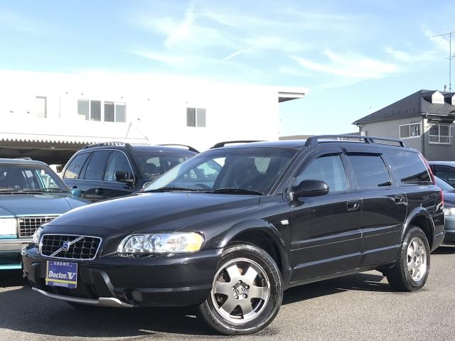 2003(H15)年 ボルボ XC70 D車 右H 2.5T ETC ナビ 記録簿 当店買取車