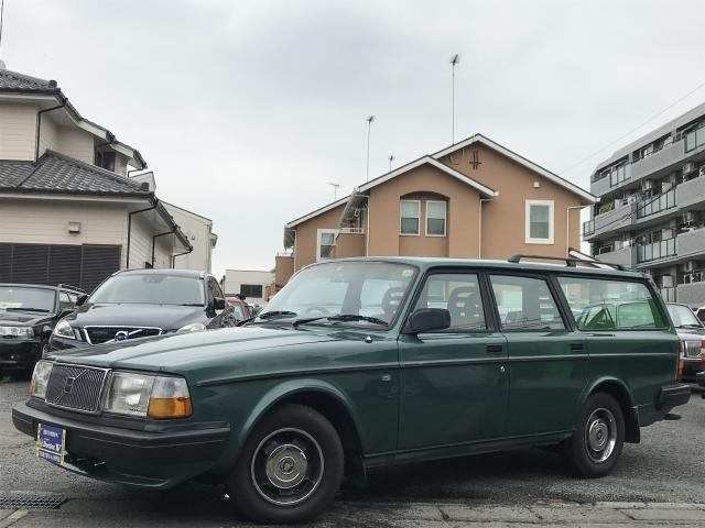 1993(H05)年 ボルボ 240ワゴン D車 右H GLE 最終モデル 稀少メッキリング装備