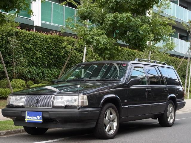 1996(H08)年 ボルボ 940 D車 右H クラシックエステート 純正AW ウッドパネル仕様