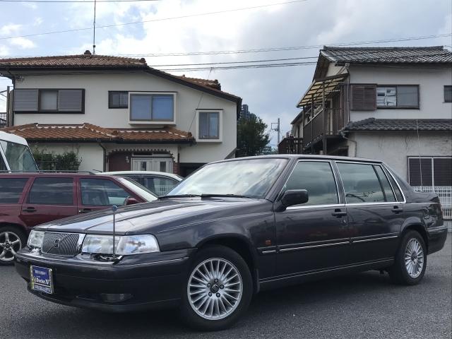 1997(H09)年 ボルボ 960 D車 右H 最上級グレードロイヤル 内外装程度良好