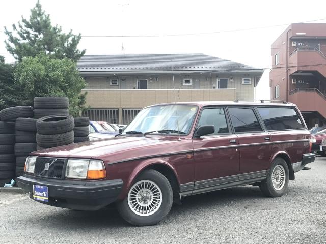 1991(H03)年 ボルボ 240 D車 右H GLリミテッド 専用ステアリング 記録簿あり