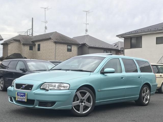 2005(H17)年 ボルボ V70Ⅱ D車 右H 【特別限定車R】 当店買取車