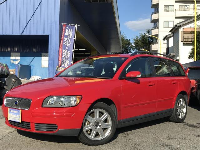 2006(H18)年 ボルボ V50 D車 右H 2.4 ウッドパネル 当店買取車