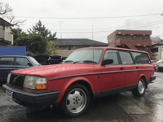 1993(H05)年 ボルボ 240ワゴン D車 右H 最終モデルTACK 最終型!美車