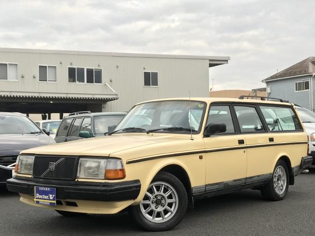 1993(H05)年 ボルボ 240 D車 右H 最終モデル クラシック 当店直接買取車