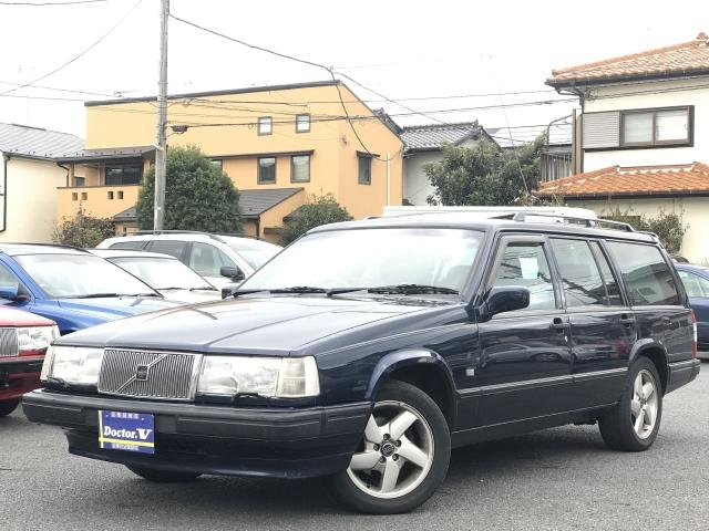 1998(H10)年 ボルボ 940 D車 右H クラシックエステート 社外1DINデッキ
