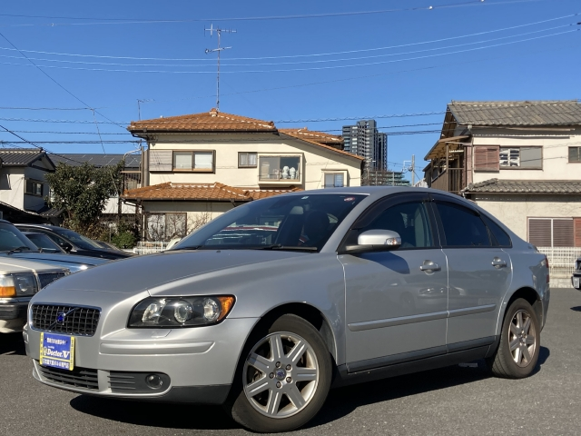 2007(H19)年 ボルボ S40 D車 右H 2.4 ETC装備 当店買取車