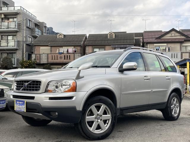 2008(H20)年 ボルボ XC90 D車 右H 3.2 SE ウッドステアリング リアセンサー装備