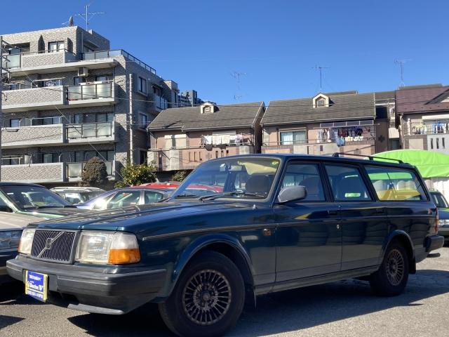 1993(H05)年 ボルボ 240ワゴン D車 右H 最終型GLE 当店買取車