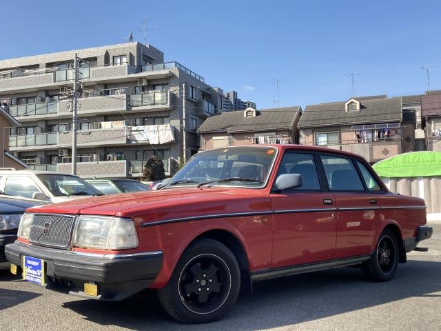 1990(H02)年 ボルボ 240セダン D車 右H GL 当店買取車 フォグランプ装備
