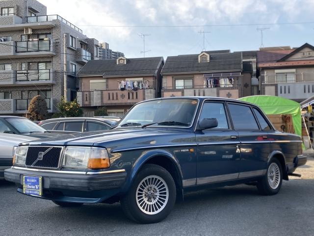 1989(H01)年 ボルボ 240セダン D車 右H GL 当店買取車