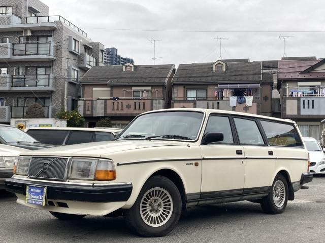 1989(H01)年 ボルボ 240ワゴン D車 右H GL メッキモール 当店直接買取車